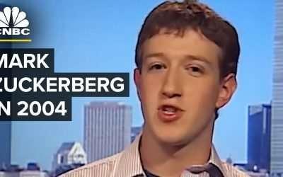 Zuckerberg talking about 'The Facebook' in 2004